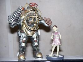 Bioshock Figures by ZippingMeteor