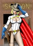Power Girl Sheriff - Old West by powerbook125