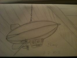 20130707 Blimp by SketchDailyChallenge