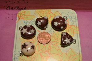 Pan di Stelle charms by ColorNuvola