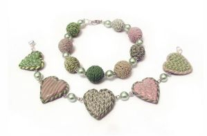 knitted beads by oione