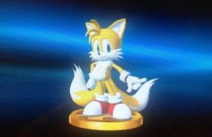 SSB4 Tails Trophy by 3Bros1Mission