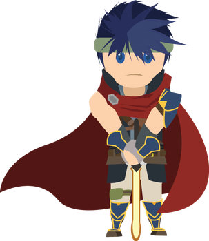 Chibi Ike Vector by ViralDrone