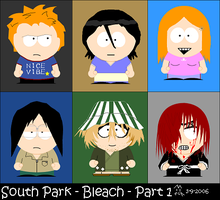 Bleach in South Park by Bad-Dog-No-Biscuits