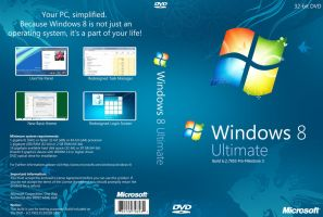 Windows 8 Pre-M3 DVD Cover v2 by Misaki2009