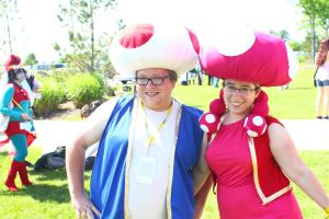 ColossalCon 2014 - Toad-ally Nerdy by VideoGameStupid