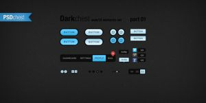 Darkchest part01 - psdchest.com freebie by Shegystudio