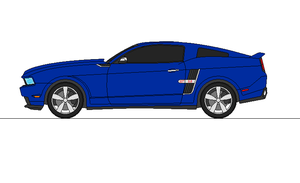 2014 Mustang GT by airsoftfarmer