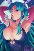 Morrigan by KarlaDiazC