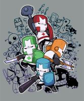 castle crashers by KEISUKEgumby