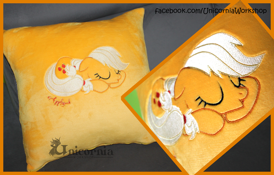 For Sale: Applejack Pillowcase by Unicornia-Workshop