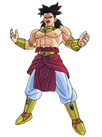 Ultimate Broly by brolyeuphyfusion9500