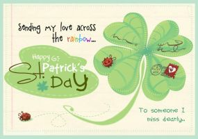 St. Patrick's Day card by ehllychan