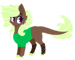 Brown and Green Stonekeeper Auction [CLOSED] by DarkHeartThePegasus