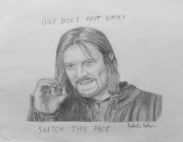 One does not simply... by RobertoJK