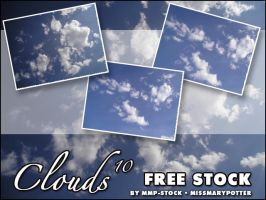 FREE STOCK, Clouds 10 by mmp-stock