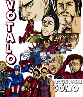 My Avengers poster comic by nupao