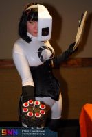 GlaDOS and cake by ntcrawler