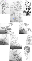 Sketchy Sketch Dump #1 by Cytric-Acid