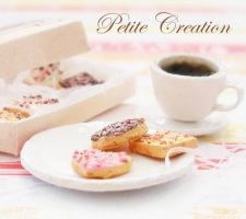 12th scale cookie+coffee set3 by PetiteCreation