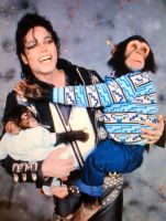 Michael-Jackson-and-Bubbles-^^- by loveandmusicmjj