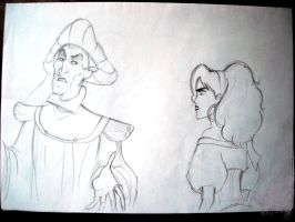 frollo esme by naly202