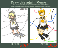 Draw This Again - meme by AmethystSolider