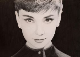 audrey hepburn by speedboy201
