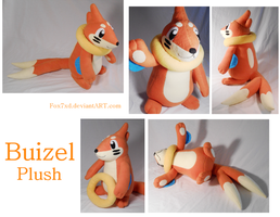 Buizel Plush by Fox7XD
