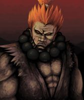 SF:Gouki by sanity-poet