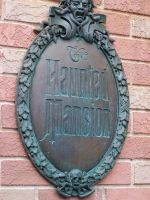 Haunted Mansion Sign by InvisibleCorpseGirl