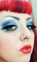 baby blue by munstermakeup