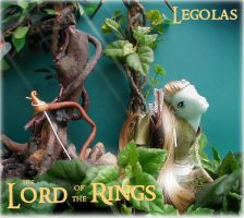Lord of the rings Legolas Pony by Barkingmadd