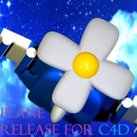 FNAFW Plane+Scarf Release for C4D by Bount56