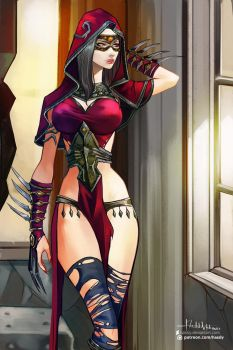 Commission: Sadira by Hassly
