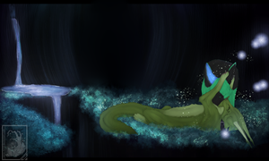 Cave of fireflies by Sara-A2