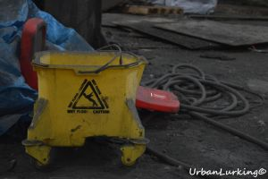 Caution Wet Floor by UrbanLuking