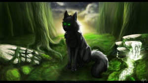 Mysterious forest by Vignar