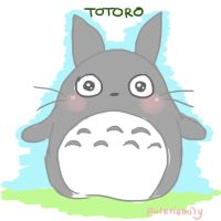 Totoro by puteriemily