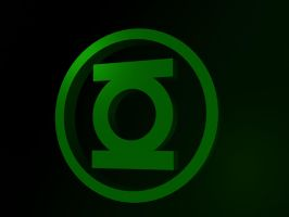Green Lantern Logo by user-01