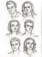 Teen Wolf Sketches by Eyedowno