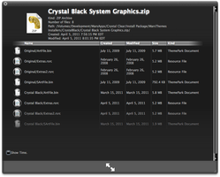 System Graphics for Crystal Black 1.3.1 by marsmuse