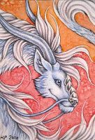 ACEO Trade: Eloren by Agaave