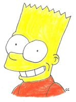 Bart Simpson by TheSimpsonsFanGirl