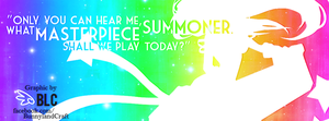 Arcade Sona - Facebook Cover by BunnyLandCraft