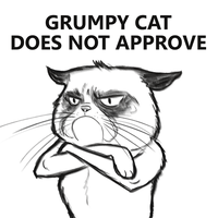 Grumpy Cat by JABcomix