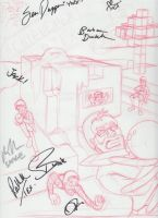 AH: Let's Play Minecraft (SIGNED SKETCH) by Sound-Resonance