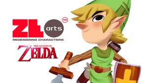 Redesigning Characters: The Legend of Zelda by zeoarts