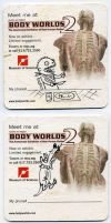3000 Hits - Body Worlds 2x3 by Mr-DNA