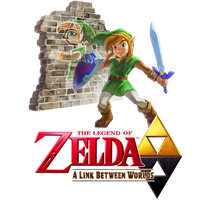 The Legend of Zelda: A Link Between Worlds New Art by Legend-tony980